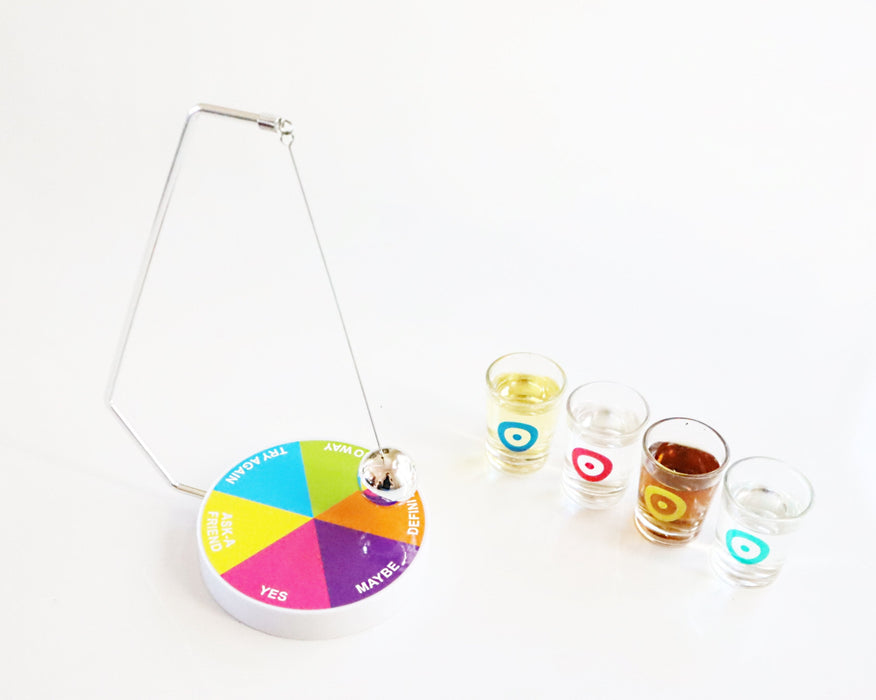 Shop Decision Maker Pendulum Ball Drinking Game for Party - Aliens Poop