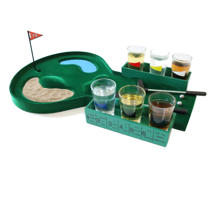Shop Golf Drinking Game Glass Shot for Party - Aliens Poop