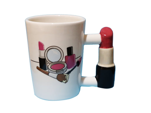 Shop Lipstick Handle with makeup print Coffee Mug, Tea, Hot Chocolate, Makeup Funny Gift Coffee Cup for Women, Office or Home. - Aliens Poop