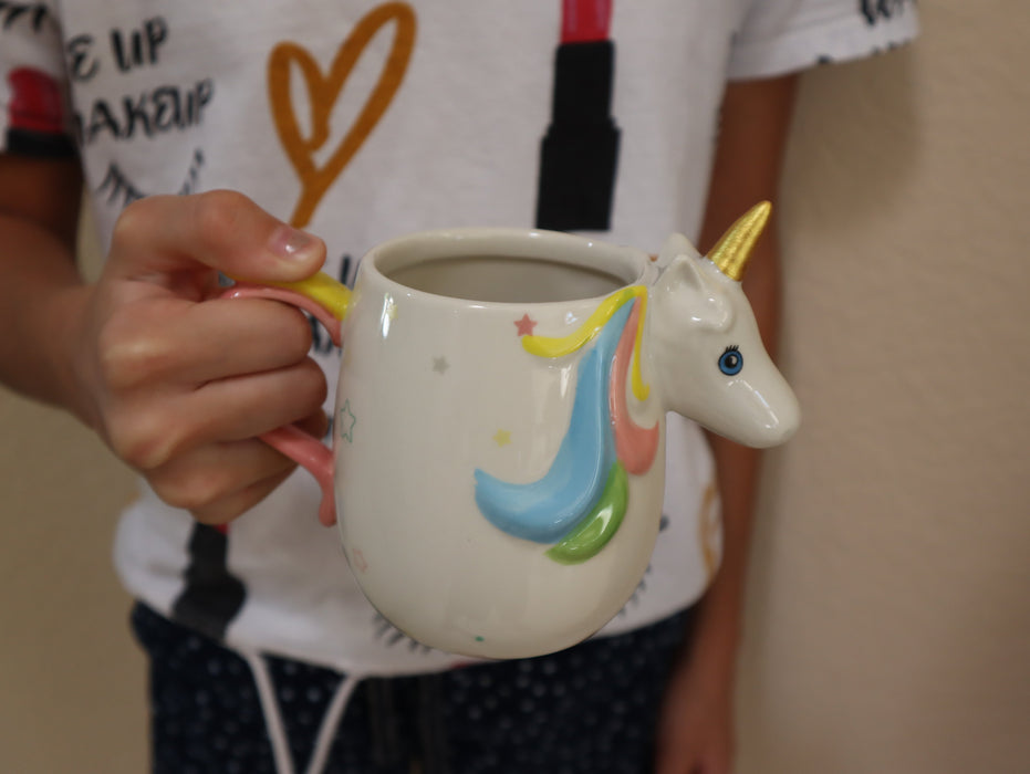 Shop Magical Unicorn Coffee Mug, 12 oz Ceramic Coffee Mug - Aliens Poop