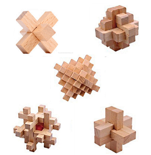 Shop 5 Pack Wood Puzzles Brain Challenge Puzzles for Kids and Adults Mixed Skill Levels… - Aliens Poop