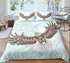 Eagle Zentangle Stylized Ornate Lace Duvet Cover Bedding Set - Bohemian Shrine