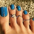 Bohemian Toe Rings 3 pieces - Bohemian Shrine
