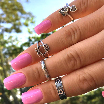 Vintage Bohemian Jewelry Rings - Bohemian Shrine