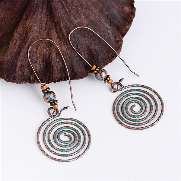 Free Spirit Handmade Drop Earrings - Bohemian Shrine