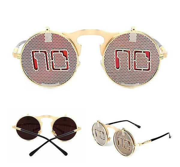 Rave EDM Clamshell Sunglasses - Bohemian Shrine
