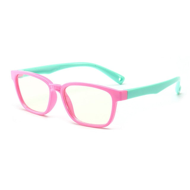 Baby Anti-blue Light Silicone Glasses