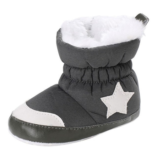 Fashion baby shoes  Girl Boy Soft Booties Snow