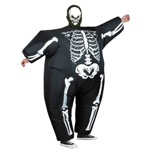 Adult Inflatable Horrible Ride on  Costumes for Halloween