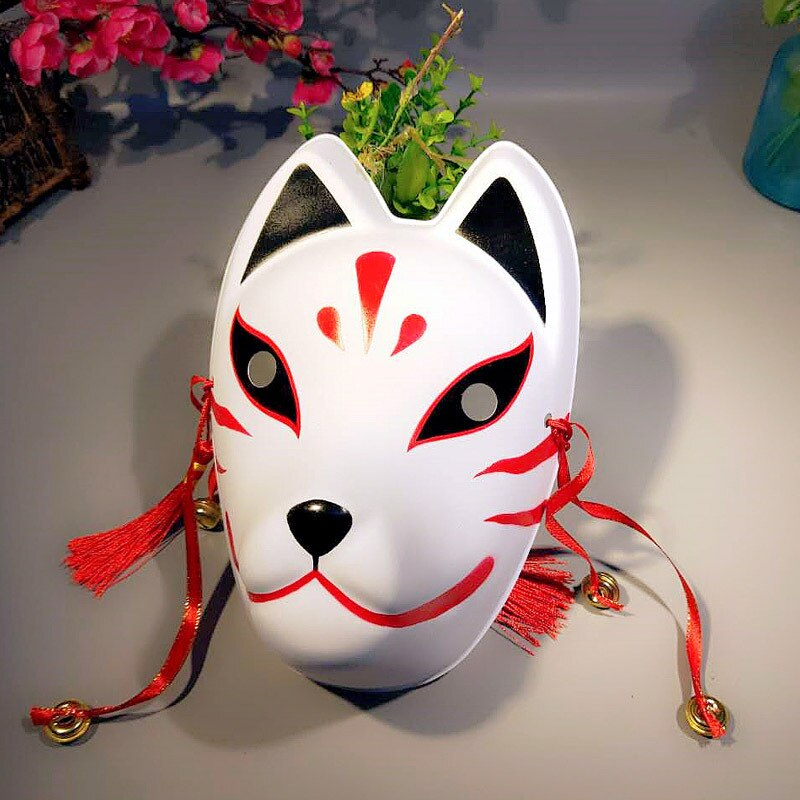 Japanese Fox Masks Full Face Hand-painted Style
