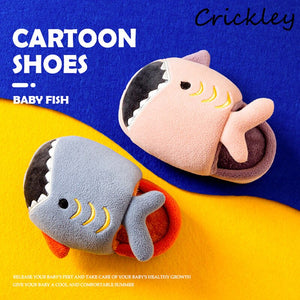 Cute Cartoon Shark Slippers for Boys & Girls