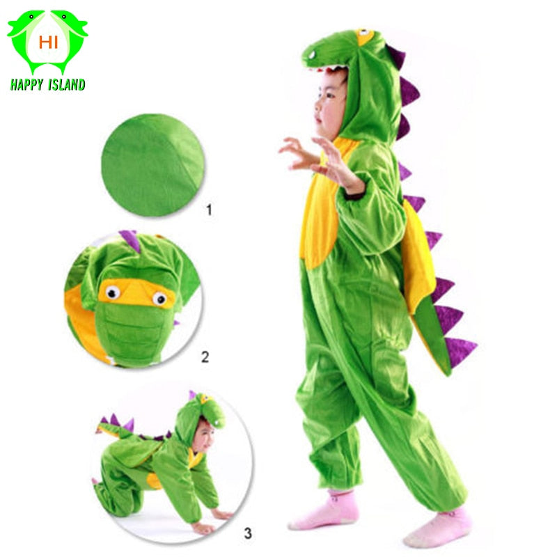 Dinosaur Cosplay Costumes Kids Boys & Girls Complete Costume