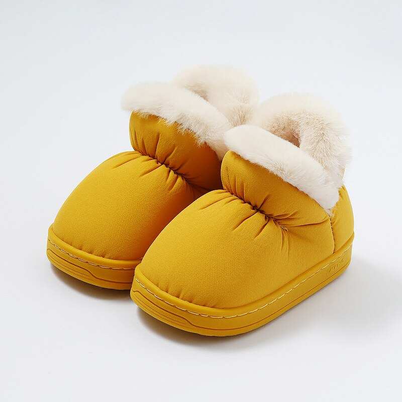 Kids Snow Boots Cute Candy Colors