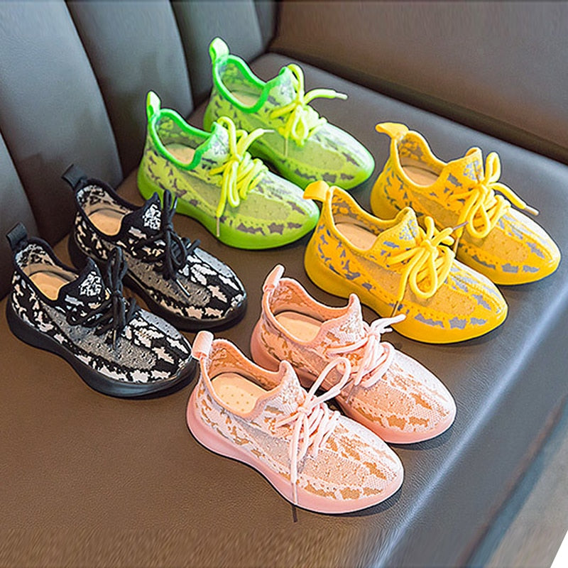 Kids Luminous Shoes LED Light Cute, Breathable, High Quality