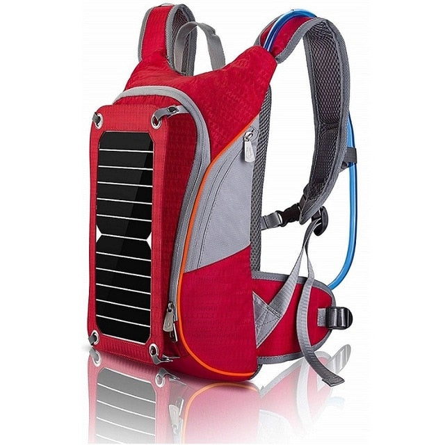 Multi-functional Traveling Backpacks, with Solar Panel for Phone, Camera, Laptop and more
