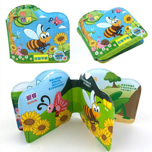 Baby Bath Toys Waterproof Cloth Books