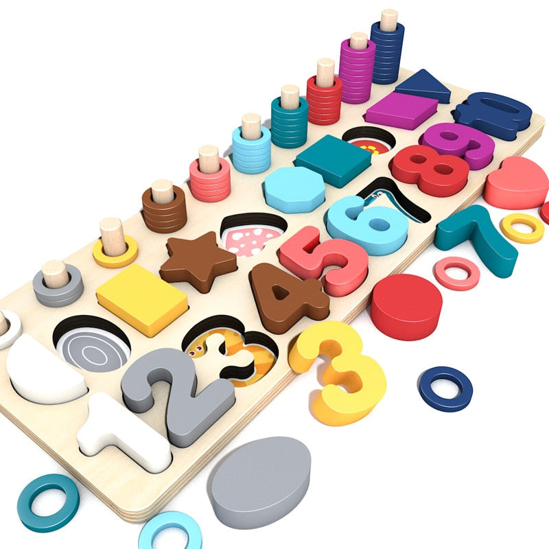 Montessori Educational Wooden Toys For Children