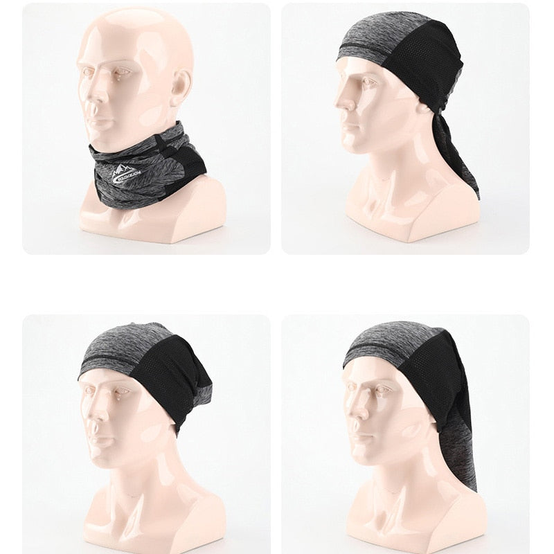 Sunscreen Ice Riding Mask Outdoor Bicycle and Motorcycle Magic Headscarf Wind-proof Dust-proof and Air-permeable