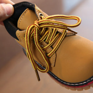 kids Leather Snow Boots winter