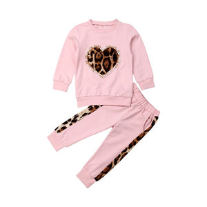 Pink Baby Girl Winter Set