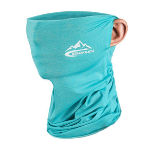 Solid ice silk triangle sunscreen mask windproof multi-functional