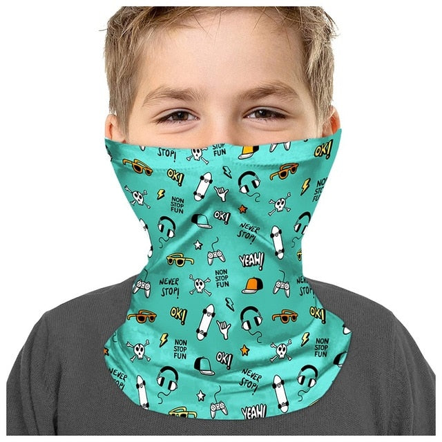 Multi-purpose Scarf for kids