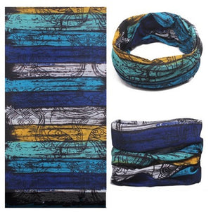 Sports Ski Neck Multi Colors Tube Scarf