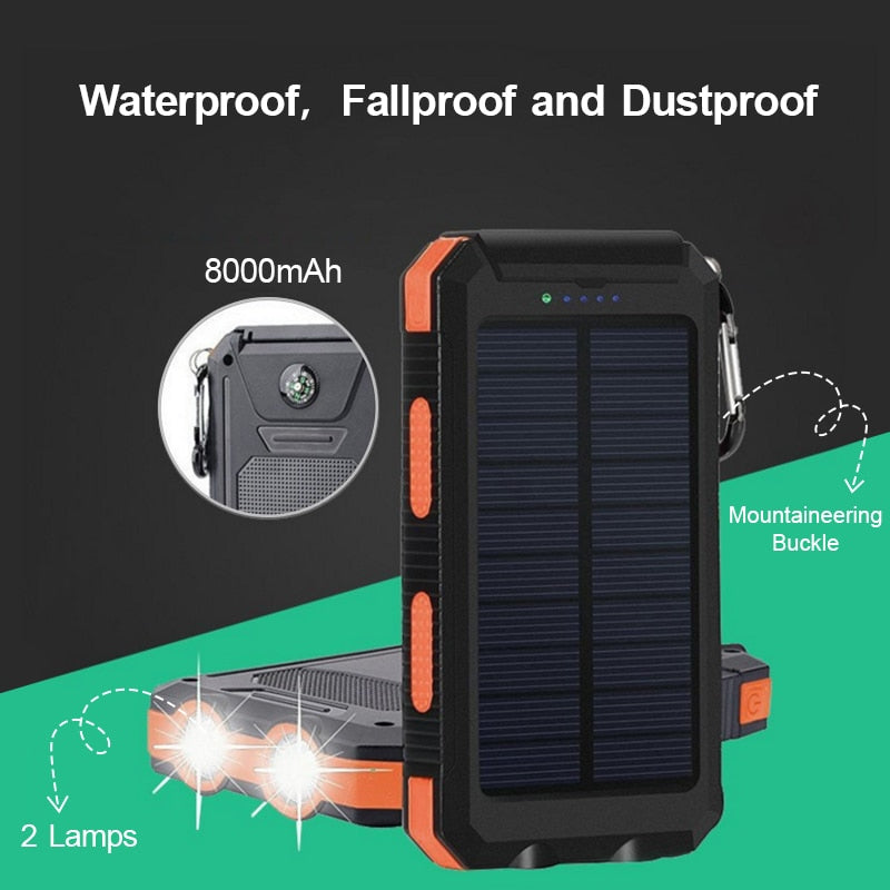 Solar Charger Power Bank