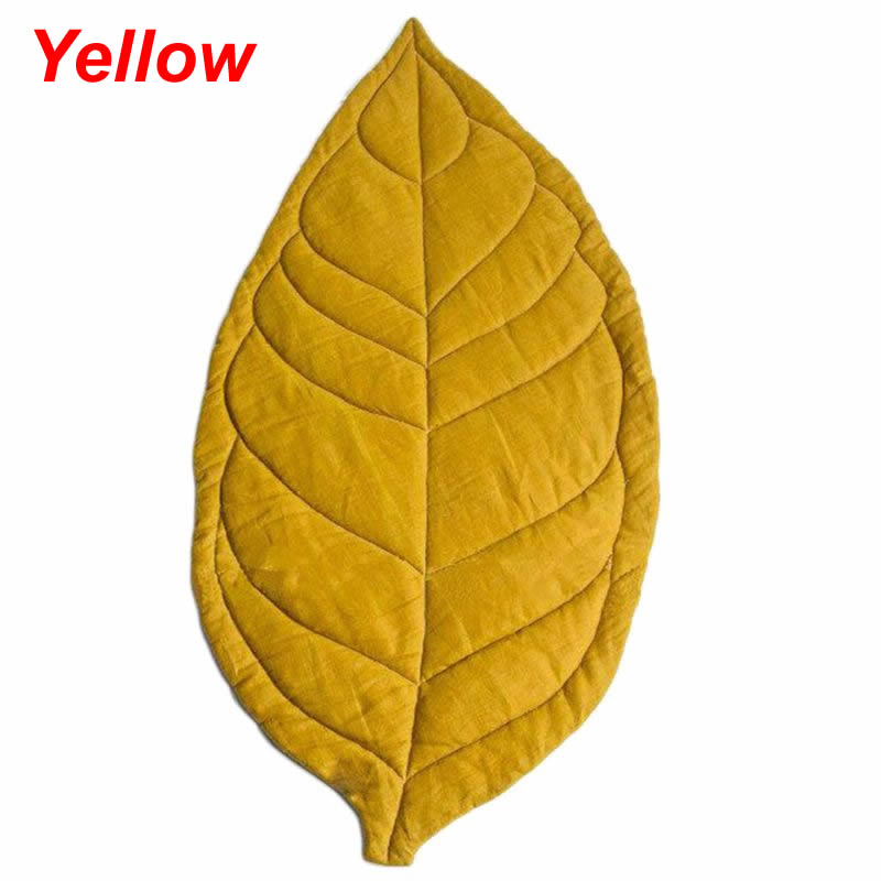 Newborn Baby, Kid, Children Room Decor Leaf Shape Soft Crawling Play Mat