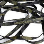 "72"" Combat Boot Laces - Multicam Black"