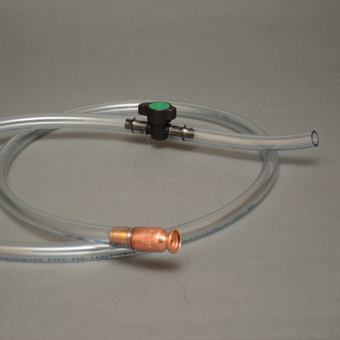 "Original Safety Siphon KIT -6' Hose, 1/2"" Valve, on/off Valve, 9"" Extension Hose"