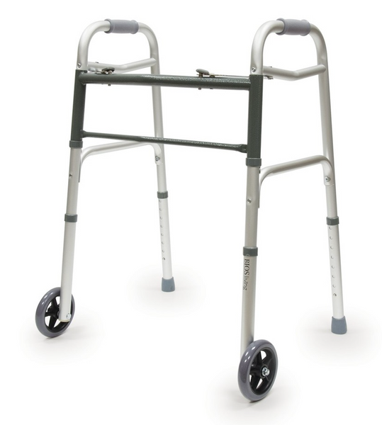 BIOS DELUX FOLDING WALKER WITH WHEELS