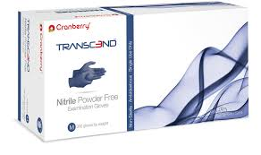 Cranberry Nitrile Gloves (300 count) S/M/L in stock!
