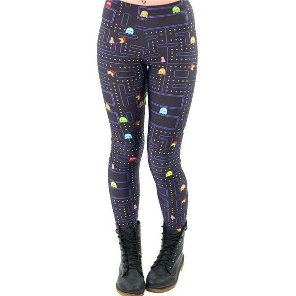 Women's Pacman Leggings - Myhotleggings