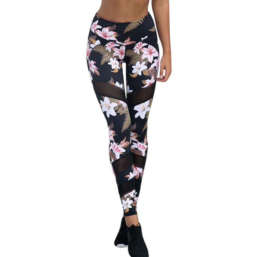Women's Floral Leggings - Myhotleggings