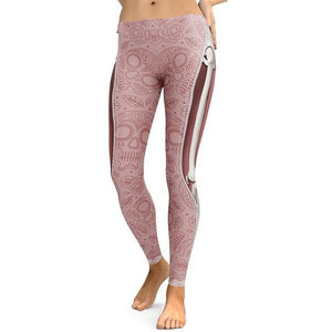 Women's Premium SkullHead Leggings - Myhotleggings