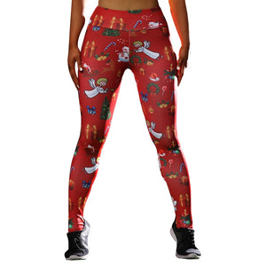 High Waisted Christmas Leggings - Myhotleggings