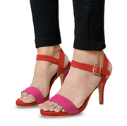 Fuschia Red Heels
