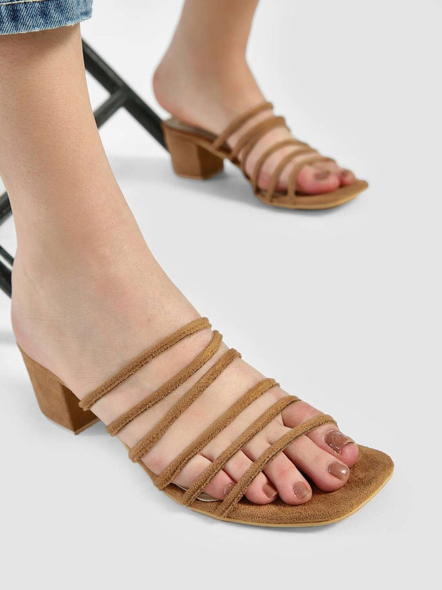 Mayfair Strappy heels