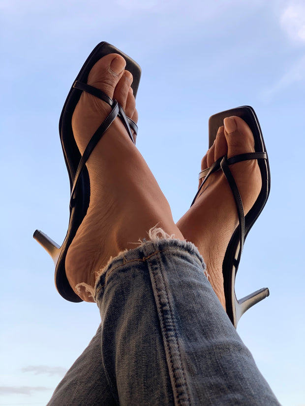 Sleek Strappy Heels