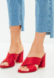 Red cross Mules
