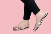 See through printed flats
