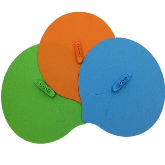 1Pc Steam Steaming Lid Silicone Lid Pot Cover Cooking Tools - Green