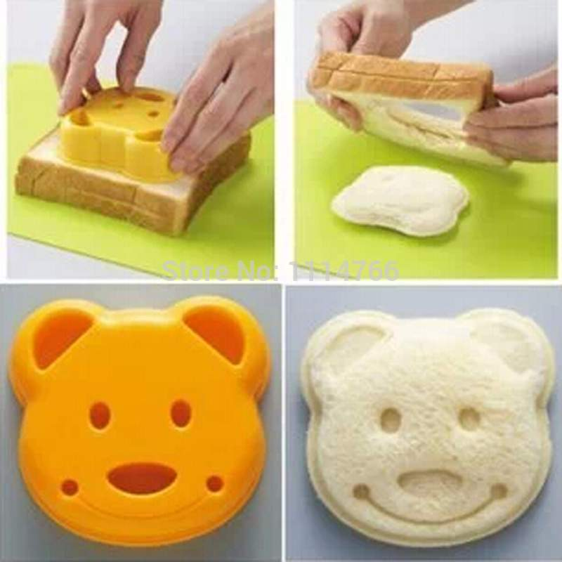 Hot Diy Bear Sandwich Mould - Baking & Pastry Tools