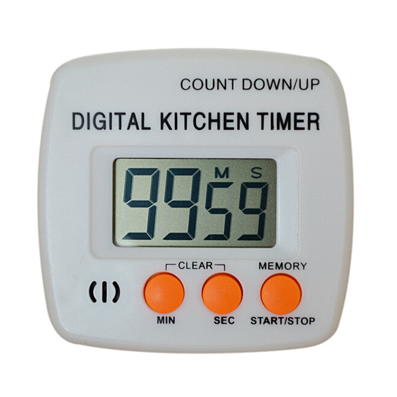 New Large Lcd Digital Kitchen Cooking Timer Count-Down Up Clock Loud Alarm ##