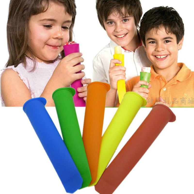 Super Deal New Ice Pop Makers Popsicle Molds New Safe Silicone Freezer Ice Cream Maker Mold Xt