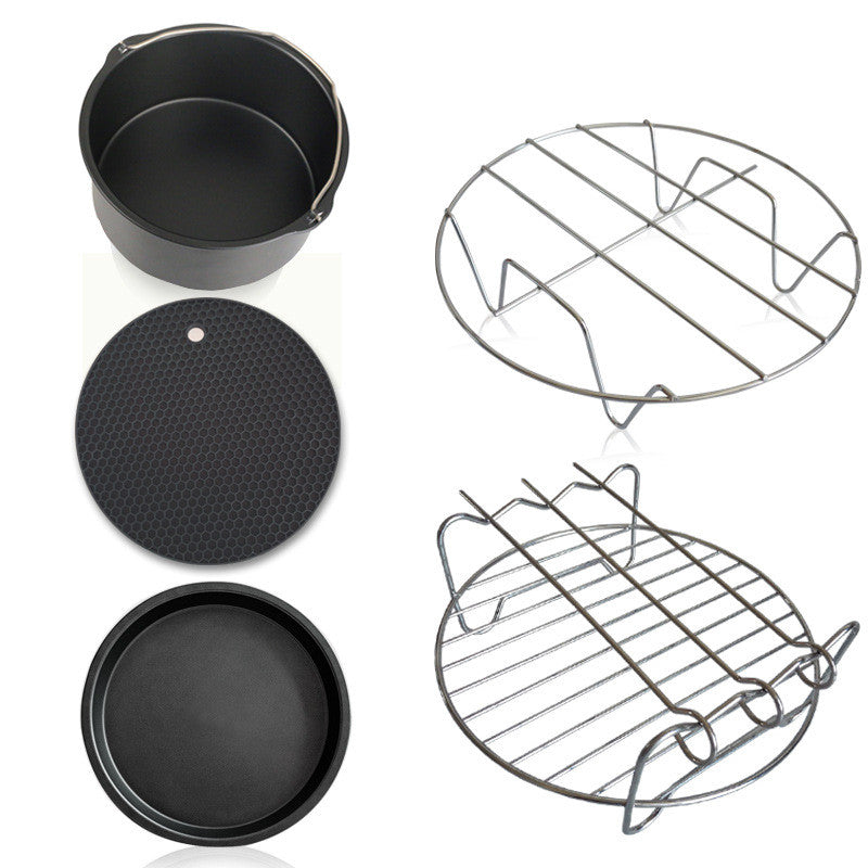 New 5 Pcs/set Cookware Sets Home Air Frying Pan Accessories