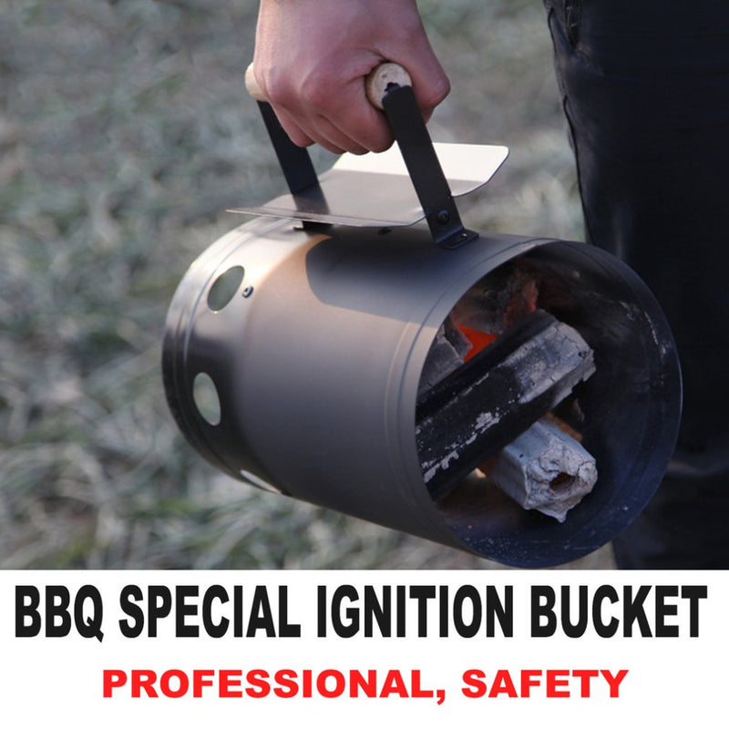 Starter Bbq Barbecue Barrel Rapid Fire Stove