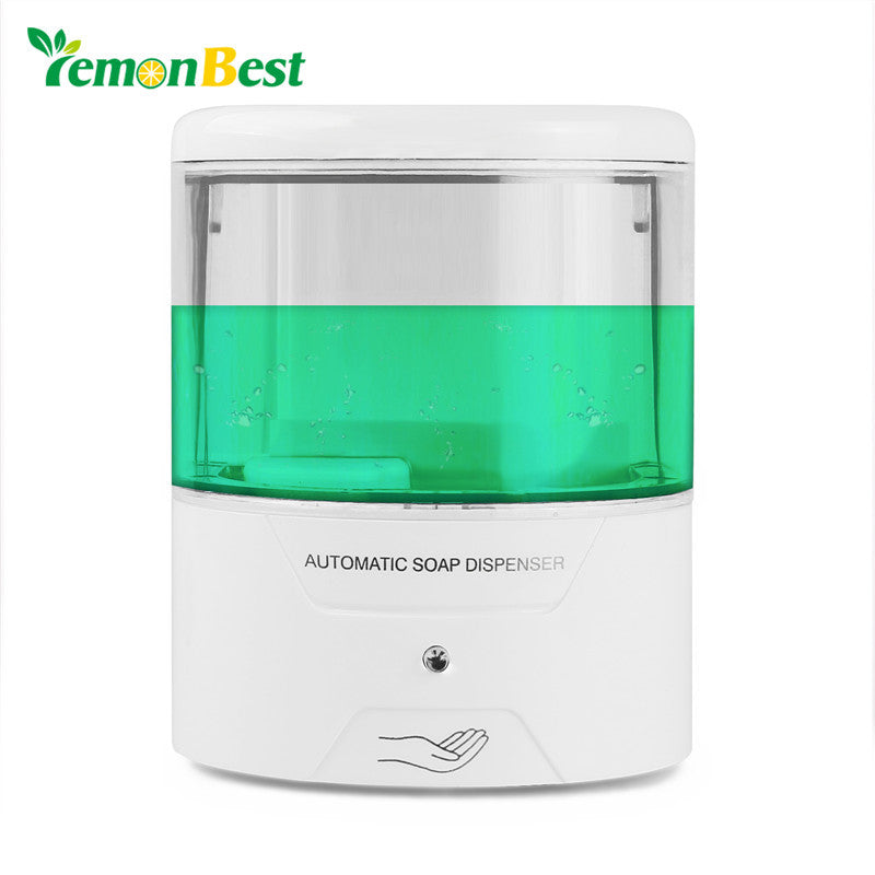 600Ml Wall-Mount Automatic Ir Sensor Soap Dispenser