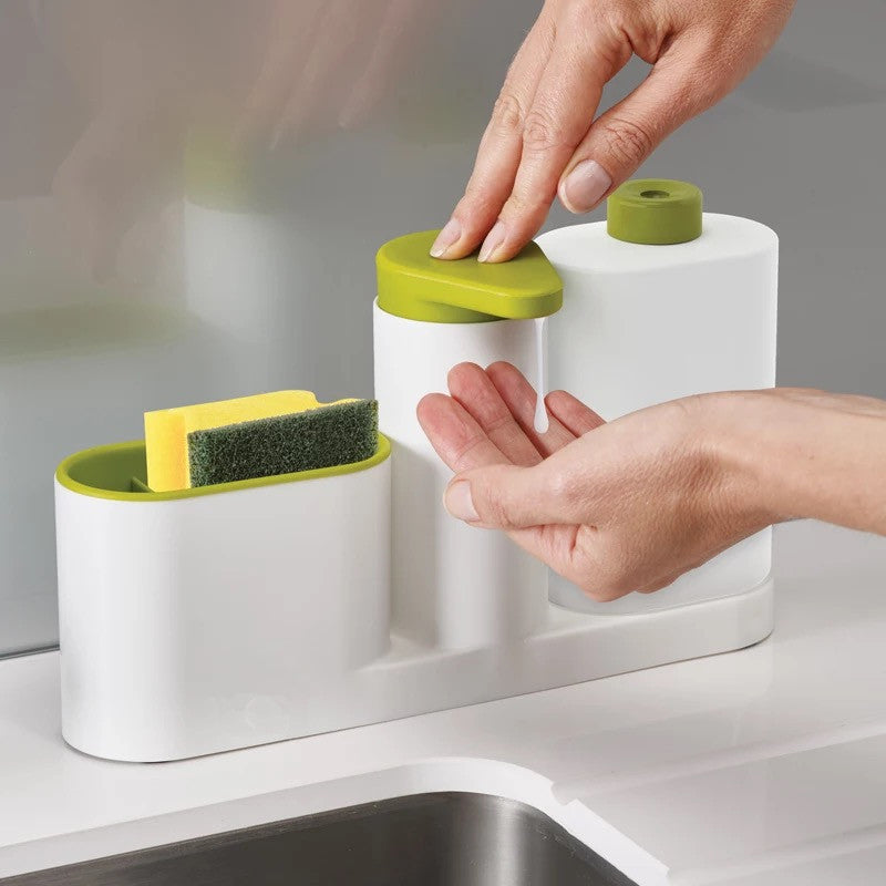 Multifunctional Kitchen Washing Sponge Storage Shelf - Storage Holders & Racks
